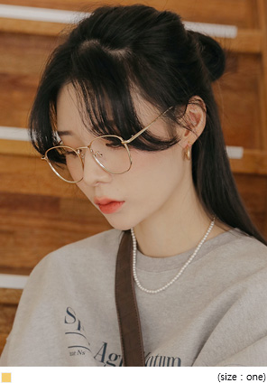 [ACC] MARILL GOLD FRAME GLASSES