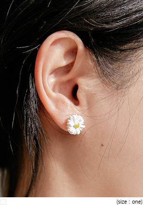 [JEWELRY] ELIAN FLOWER MINI EARRING